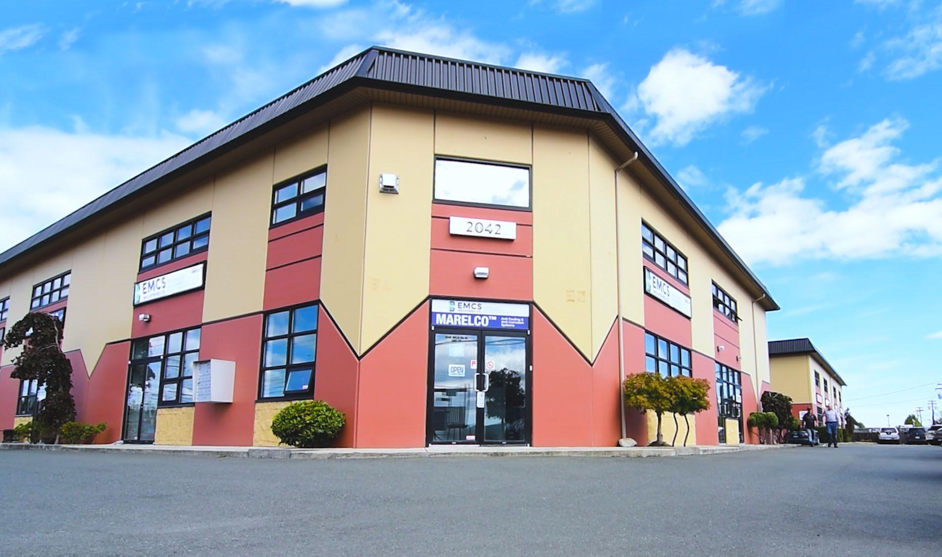 EMCS Industries Ltd Head Office in Sidney BC, Canada