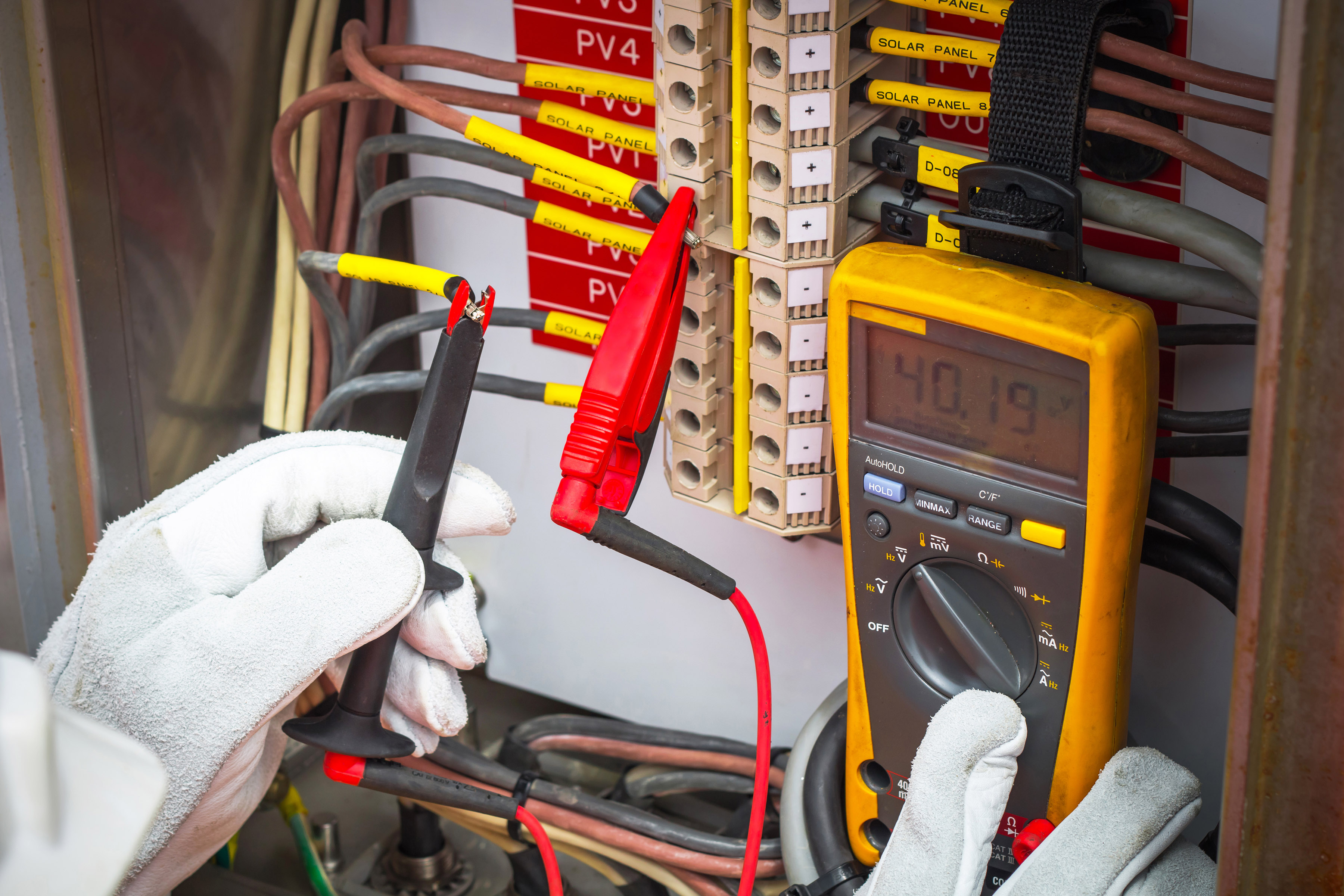 ICCP and MGPS Electrical System Survey